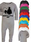 Daddy's Little Jedi Star Wars Inspired Baby Babygrow Bodysuit Baby Gift