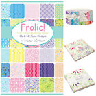 MODA Frolic 100 % cotton, charm pack jelly roll layer cake for sewing & patchwor