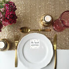 Antique Gold Sequin Table Runner - Ready to ship from the UK