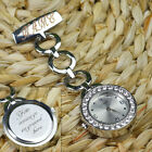 Personalised Engraved Diamante Nurses Fob Carers Watch Graduation Custom Gift