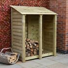 Cottesmore 6ft Outdoor Wooden Log Store ***Clearance Stock*** - UK Hand Made