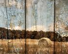 Rustic Modern Farmhouse Wall Art Decor Matted Wall Art Picture