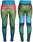 Womens Yoga Legging TIGHT Compression Workout Gym Wear Athletic Sublimation Top