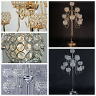 "40"" Crystal Beaded Candelabra Candle Holder Wedding Centerpiece WHOLESALE SALE"