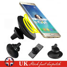 2in1 Qi Wireless Car Charger Magnetic Air Vent Holder Stand For Samsung Iphone