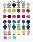 "SISER 12"" X 10"" - 1 Sheet Glitter Heat Transfer Vinyl (Iron-On)/FREE SHIPPING!!"