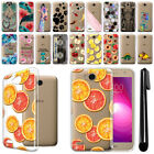 "For LG X Power 2 LV7 5.5"" M320 M322 Fiesta LTE Clear Soft Case Phone Cover + Pen"