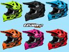 CASTLE X MODE MX STANCE SNOCROSS HELMET SNOWMOBILE ATV DIRTBIKE 2018