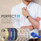 Luxury Stainless Steel Strap Metal Watch Band Military Wrist For Fitbit Alta /HR image