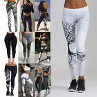 Women Sport Gym Yoga High Waist Running Pants Fitness Elastic Leggings Lot