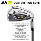 TaylorMade M2 Iron Set With No UpCharge Shafts Mens Right Hand - New 2017