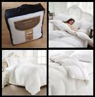 Luxury Soft Microfibre Wrapped Duvet Quilt Feels like Down in all sizes 13.5 Tog
