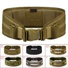 Tactical Military Airsoft Combat Waist Padded Belt Combat Web Belt for#p