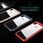 Rock For iPhone X Case Ultra Thin Crystal Clear Back Shockproof Hybrid Cover US