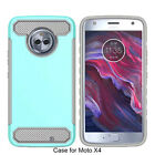 Case For Motorola X4 Plus Armor Soft TPU Gel Rubber Silicone Hard cover Fundas