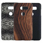 For LG V30 Luxury PU Coated Hard case cover
