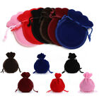 12Pcs Drawstring Gourd Shape Velvet Jewelry Pouches Wedding Party Gift Bags