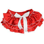 JuDanzy RED SATIN DIAPER COVER BLOOMER BABY NEWBORN VALENTINES 4TH OF JULY