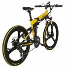 Full Suspenion 7 Speeds  240W 48V 10AH Foldable Electric Bike Ebike 26IN Bicycle