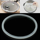 Silicone Rubber Pressure Cooker Seal Ring Clear Gasket Replacement Home 22-30cm