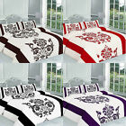 Darcy Printed Duvet Cover Single Double King Superking Floral Bedding Pillowcase