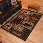 Patchwork Cabin Rug Various Sizes and Shapes with FREE Shipping