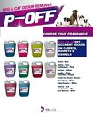 P-OFF - PET CATTERY KENNEL DISINFECTANT DEODORISER CLEANER FRESH ODOUR DOG