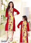 Indian Designer Cambric Cotton kurti Kurtis-Tunics for Women Sizes L XL 2XL