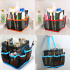 8 Basket Pockets Mesh Shower Tote Wash Bag Bathroom Caddy Storage Package Bags