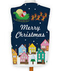 Christmas Novelty Waistcoat Fun Fancy Dress Informal Santa Dropping Presents
