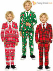 Kids Opposuit Deluxe Christmas Suit Lined Smart Fun Outfit Party Toddler Boys