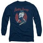 Betty Boop Baseball Player TEAM BOOP Vintage Style Long Sleeve T-Shirt S-3XL $35.6 CAD on eBay