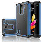 Shockproof Armor Rugged Rubber Protective Hybrid Hard Case Cover for Cell Phones