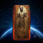 STAR WARS/HAN SOLO/CARBONITE/FLIP WALLET PHONE CASE COVER FOR IPHONE/SAMSUNG £8.79 GBP
