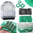 USA Seed Catcher Guard Mesh Bird Cage Cover Shell Skirt Traps Cage Basket S/M/L