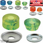 "TRACKER ""Superball"" Truck Bushings Skateboard Blue 82a Orange 88a Green 95a Pair"