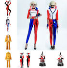 Fashion Harley Quin Women's Cosplay Costume Suicide Squad Party Bodysuit Set Lot