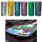 Universal Auto Car Headlight Taillight Fog Lamp Vinyl Film Sheet Sticker Wrap US