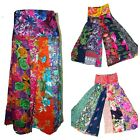 Patchwork Indian Cotton Trousers Boho Aladdin Afghan Pants Flares Yoga Harem