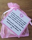 10 X BABY SHOWER SCENTED CANDLE FAVOURS GIRL PINK GIFT BOX