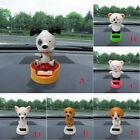 Solar Powered Dancing Animal Swinging Animated Bobble Dancer Toy Car Decor Dog