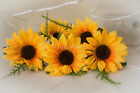 Yellow Sunflower Buttonhole, Groom, Best Man Father of Bride