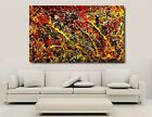 Jackson Pollock Canvas Wall Art - Lessons