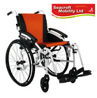 """Excel  G-LOGIC  Self Propelled Wheelchair  (18"""" Wide Seat) SILVER Frame"""