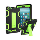 Hybrid Rubber Shockproof Stand Case Cover For Amazon Kindle Fire 7 2017 7th Gen