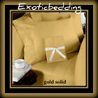 "100% Cotton Extra Sizes & Deep Pocket 12"" Inches Sheet Set Select Colors 400TC"