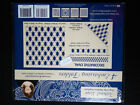 Tattered Lace - 4 Embossing Folders – Decorative Oval