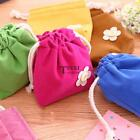 Drawstring Storage Bag Pouch Home Travel Reusable Underwear Makeup TXSU