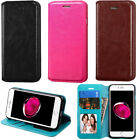 iPhone Wallet Case Luxury Deluxe PU Leather Flip Cover Stand Credit Card Holder
