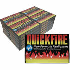 Quickfire Firelighters BBQ Camp Oven Fast Clean Longburn Fire Lighters Hotspots